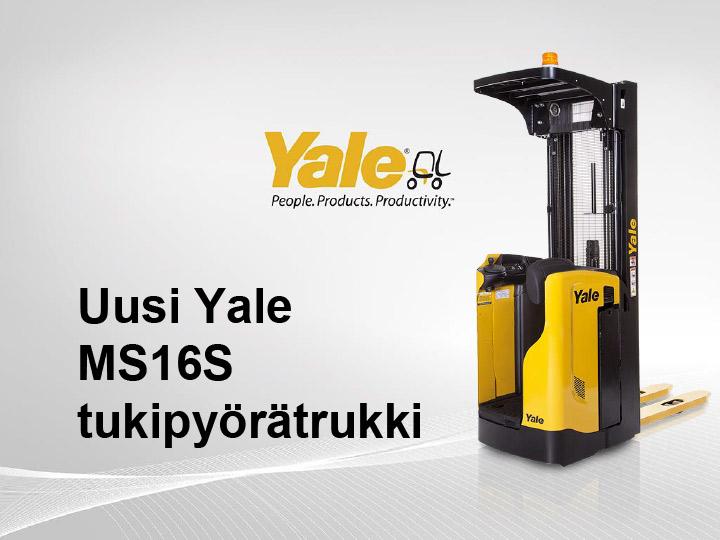 Yale MS16S tukipyörätrukki